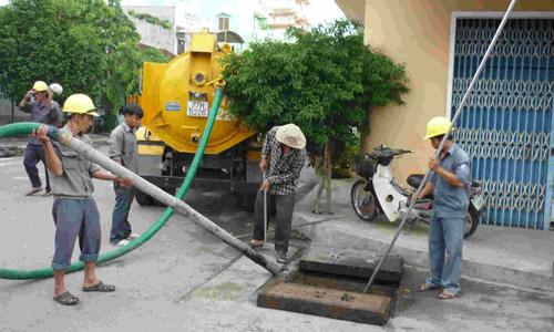 Dịch vụ hút bể phốt tại Ba Đình 24h 100K/M3