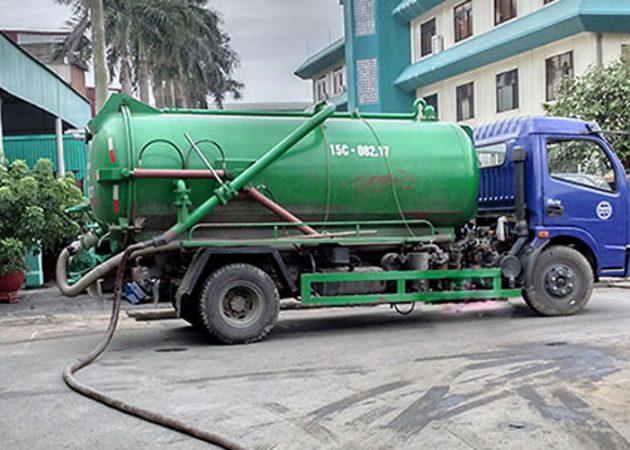 hút hầm cầu ở thị xã Cai Lậy Tiền Giang